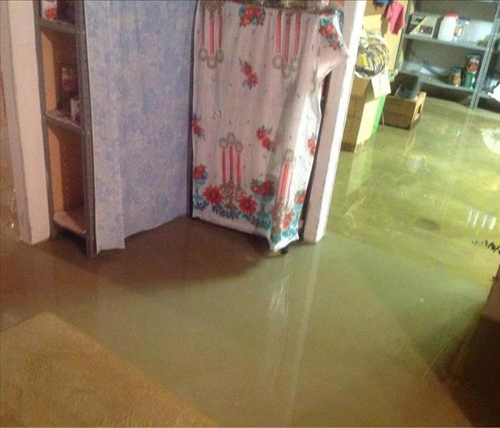 Water Damage Following Big Storm