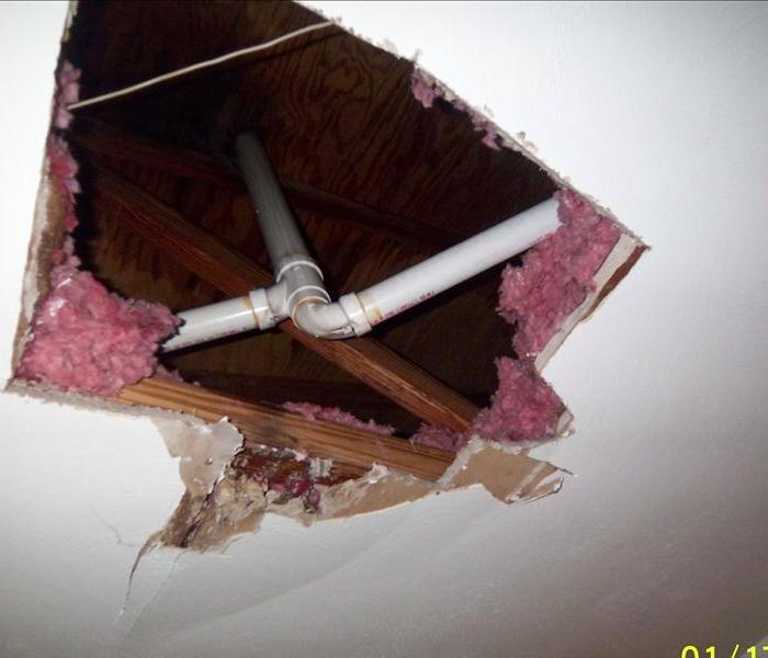 Water Damage Frozen Pipes tips