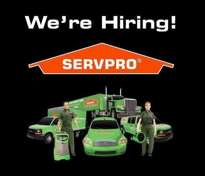 Why SERVPRO WE'RE HIRING!